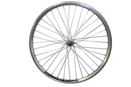 Laufrad Hinterrad 26 Zoll SAIKO Fahrradfelge Aluminium Hohlkammerfelge Silber - 1