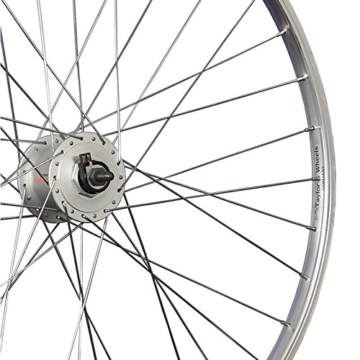 Taylor Wheels 28 Zoll Vorderrad Shimano Nabendynamo Nexus DH-C3000-3N - silber - 2