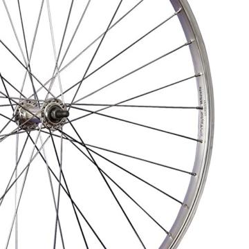 Taylor Wheels Laufrad 28 Zoll Vorderrad Büchel Aluminiumfelge Vollachse silber - 2