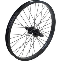 20 Zoll BMX Collective Laufrad schwarz vorne oder hinten + 9t Driver - 1