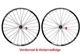 "27,5"" Zoll Fahrrad Laufrad Satz DT SWISS Vorder Hinter Rad 650B Felgen 584x19 schwarz - 1"