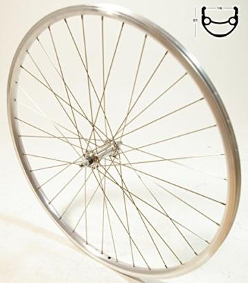 Exal 28 Zoll Laufrad Vorderrad Felge Exal TX 19 Alu Rad Fahrrad 7 Fach -