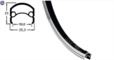 Felge Rodi Web Xl 19-622 36l Silber Sonderpunzung - 1