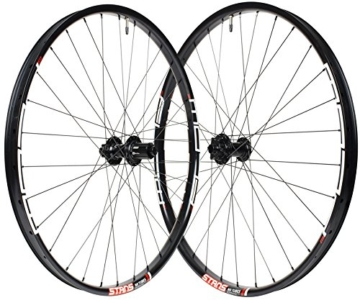 Notubes Uni Ztr Flow MK3 VR 15 x 100mm HR, Stan's Neo, 12 x 142mm, Shimano Laufradsatz, Schwarz, 27,5″ -