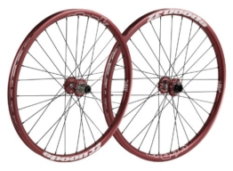 "Spank Laufradsatz Spoon32 EVO wheelset 20mm + 12/135mm incl. adapter, red, 26"", SP-WHL-F010-red-26"" - 1"
