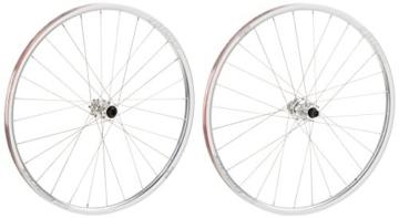 Spank Mountainbike Laufradsatz Oozy Evo 26 Zoll 15 mm/12/142 mm Incl Adapter, Chrome, 26, SP-WHL-F020_26_17 - 2