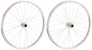 Spank Mountainbike Laufradsatz Oozy Evo 26 Zoll 15 mm/12/142 mm Incl Adapter, Chrome, 26, SP-WHL-F020_26_17 - 1