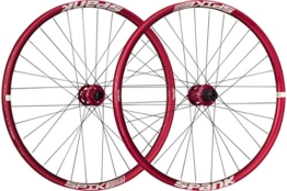 Spank Spike Race33 DH 27,5 Zoll Wheelset 20 mm, 12/150 mm BB Laufräder, Red, 650 B - 1
