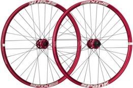 Spank Spike Race33 DH 27,5 Zoll Wheelset 20 mm, 12/150 mm BB Laufräder, Red, 650 B - 1