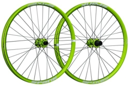 Spank Spike Race33 DH 27,5 Zoll Whlset 20 mm, 12/135 mm Adapter BB Laufräder, Emerald Green, 650 B - 1