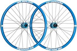 Spank Spoon32 Evo 27,5 Zoll Wheelset 20 mm, 12/150 mm Laufräder, Blue, 650 B - 1
