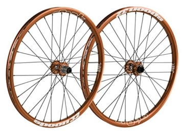 Spank Spoon32 Evo 27,5 Zoll Wheelset 20 mm, 12/150 mm Laufräder, Orange, 650 B -