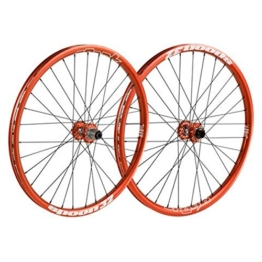Spank Spoon32 Evo Wheelset 20 mm, 12/135 mm Inklusive Adapter Laufräder, Orange, 26 Zoll - 1
