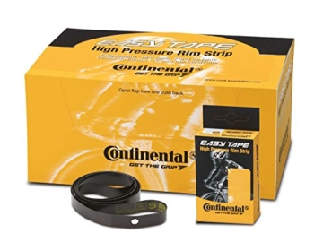 Continental Felgenband Easy Tape Hockdruck 15 Bar, Schwarz, 16mm, 16-622, 0195066 -
