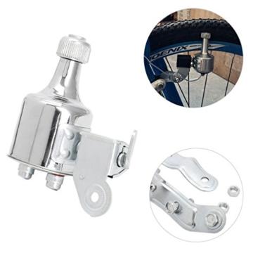 Freshsell Fahrradlichtgenerator 12 V 6 W Dynamo Motorisierter Reibungskopf Rücklicht Kit - 2