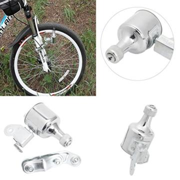 Freshsell Fahrradlichtgenerator 12 V 6 W Dynamo Motorisierter Reibungskopf Rücklicht Kit - 8