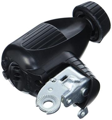 Prophete Hochleistungs-Fahrrad-Dynamo mit komfortablen Kipphebel, 4pol. Anschluss, mit Gummi- Laufrolle, 6V / 3W - 2