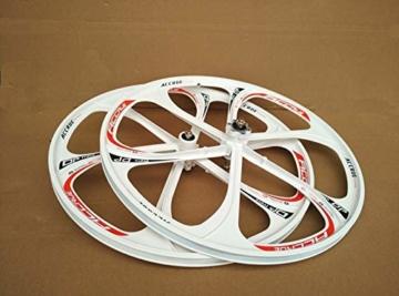 26 Zoll Magnesiumlegierung Fahrradfelgen Mountainbike Fahrradfelgen, MTB Fahrradfelge 6 Speichen Mountainbike Räder - 5