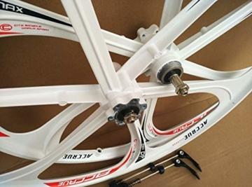 26 Zoll Magnesiumlegierung Fahrradfelgen Mountainbike Fahrradfelgen, MTB Fahrradfelge 6 Speichen Mountainbike Räder - 6