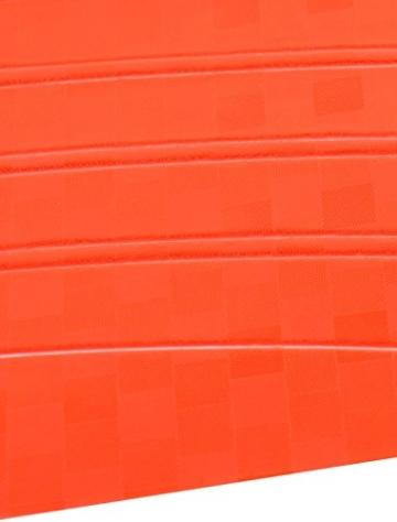 4 PC Fahrrad-Dekoration Felgen Reflektierende Aufkleber orange - 2
