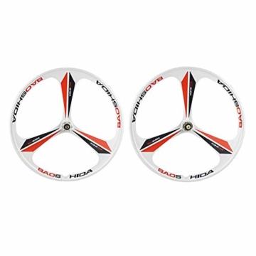 "Altruism MTB-Felge 3 Speichen Kassette Magnesium-Leichtmetallfelgen 26""Zoll Mountainbike-Felgen Fahrradfelgen - 1"