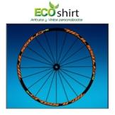 Ecoshirt 2T-M92E-D0OR Aufkleber Stickers Felge Rim Mavic Crosstrail Bike Am58 MTB Downhill, Orange 29 Zoll - 1
