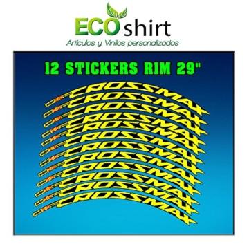 Ecoshirt Z9-3HL1-ONV4 Aufkleber Stickers Felge Rim Mavic Crossmax SL Pro 29 Zoll Am50 MTB Downhill -