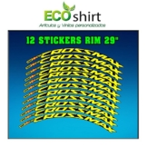 Ecoshirt Z9-3HL1-ONV4 Aufkleber Stickers Felge Rim Mavic Crossmax SL Pro 29 Zoll Am50 MTB Downhill - 1