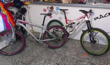 JOllify Felgenrandaufkleber für dein Fahrrad, MTB, Downhill, Freeride, Dirt, Fully, Hardtail, usw.r - pink - 2