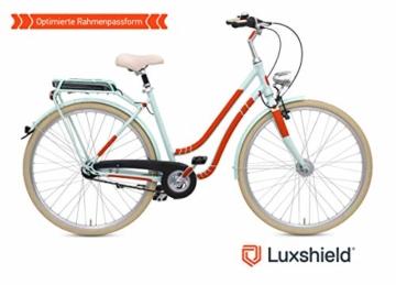 Luxshield Fahrrad Lackschutzfolie für Mountainbike, BMX, Rennrad, Trekkingrad etc. - 21-teiliges Rahmen-Set gegen Steinschlag - Carbon Optik & selbstklebend - 3