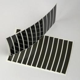 PULHEM reflektierende Reflex-Aufkleber 7mm schwarz - 1