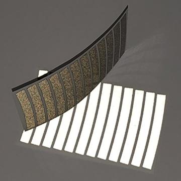 PULHEM reflektierende Reflex-Aufkleber 7mm schwarz - 2