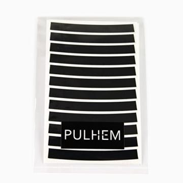 PULHEM reflektierende Reflex-Aufkleber 7mm schwarz - 3