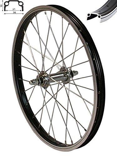 redondo 20 zoll vorderrad laufrad fahrrad 20 kasten felge aluminium schwarz. Black Bedroom Furniture Sets. Home Design Ideas
