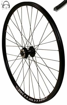 Redondo 27,5 Zoll Vorderrad Laufrad Fahrrad V Profil Felge Schwarz Disc - 1