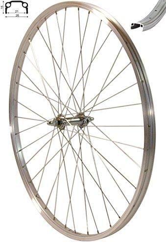 """Redondo 28 Zoll Vorderrad Laufrad Fahrrad 28"""" Kasten Felge Aluminium Silber - 1"""