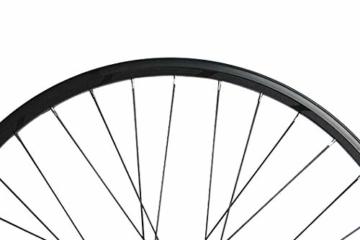 Reflektoren-Aufkleber fürs Fahrrad - 40 Streifen im Set - optimal für 27,5″ 28″ und 29″ Felgen - Farbe schwarz (weiß reflektierend) - hochwertige Sticker aus robuster 3MTM Qualitäts-Reflexfolie - 2