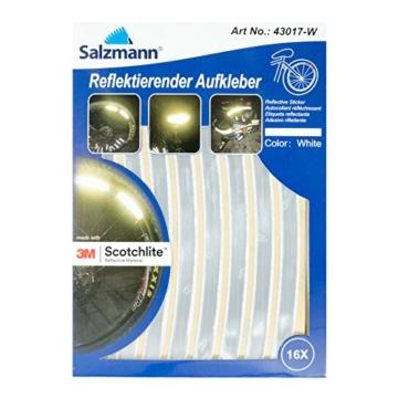 Salzmann 3M Scotchlite Reflektierende Aufkleber für Fahrradfelgen - 1