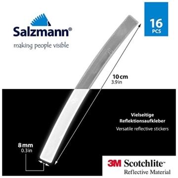 Salzmann 3M Scotchlite Reflektierende Aufkleber für Fahrradfelgen - 2