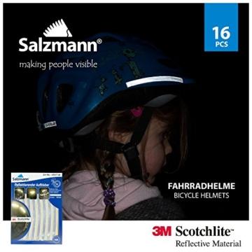 Salzmann 3M Scotchlite Reflektierende Aufkleber für Fahrradfelgen - 3
