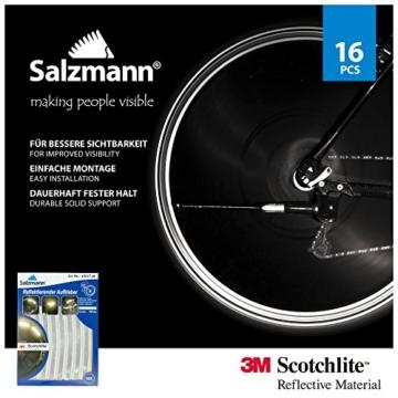 Salzmann 3M Scotchlite Reflektierende Aufkleber für Fahrradfelgen - 6