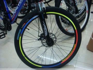serliy Rad Buntes reflektierendes Fahrrad Felgen Aufkleber Rad Abziehbild Aufkleber Radfahren - 5