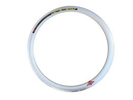 Sterne Rim 43mm Deep V FIXIE, Single Speed, Road, Track Bike, Fixed Gear Fahrrad Felgen 36H, silber - 1
