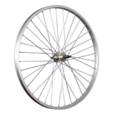 Taylor-Wheels 26 Zoll Hinterrad Büchel Aluminiumfelge Schraubkranznabe silber - 1