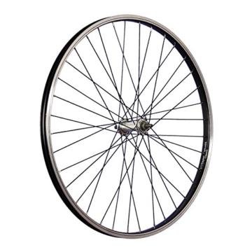 Taylor-Wheels 26 Zoll Vorderrad Büchel Kastenfelge Alunabe Vollachse Schwarz -