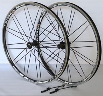 Vuelta 28 Zoll Fahrrad Laufradsatz Trekking XRP II Hohlkammerfelge schwarz Messerspeichen schwarz -