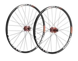 XLC Unisex- Erwachsene Laufradsatz Pro 29 Zoll MTB WS-M02 Schwarz, One Size - 1