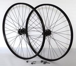 Vuelta 29 Zoll Fahrrad Laufradsatz Pro Disc Hohlkammerfelge schwarz Shimano Deore XT756 schwarz NIRO schwarz - 1