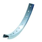 Büchel Felgenring 28 Zoll Kastenfelge Aluminium Silber 36 Loch 622-19 - 1