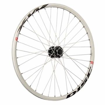 Taylor-Wheels 26 Zoll Vorderrad Mach1 MX/HB-M475 6 Loch Disc weiß - 1